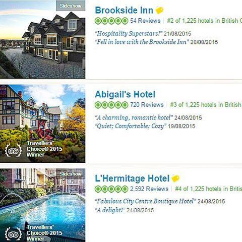 Brookside Inn on Trip Advisor