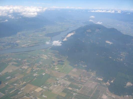 Sumas Mountain Aerial