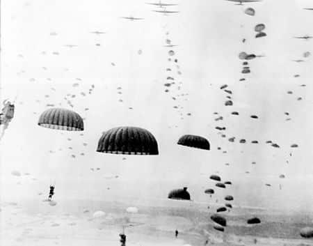 Sky Diving 1944